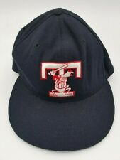 Vintage Toledo Mud Hens New Era Fitted Hat Deadstock Rare 6 3/4 90's Defunct