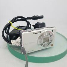 Panasonic LUMIX DMC-SZ7 14.1MP Digital Camera -WHITE Fully tested+Charger#702