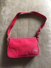 New LACOSTE Shoulder Bag Small Baguette - Vivid Red