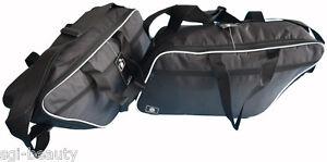 H20 1 Paar Innentaschen Kofferinnentaschen Harley Davidson Road Street E-Glide