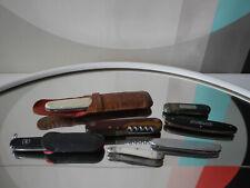 Taschenmesser Konvolut Lot of 7 pocket knifes Sammler 50er TRUE VINTAGE 60er