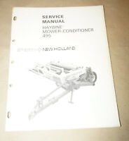 1976 Sperry New Holland Haybine Mower-Conditioner 495 Service Manual  40049510