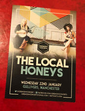 THE LOCAL HONEYS Flyer - Manchester Gullivers 22 January 2020 - Gig Memorabilia