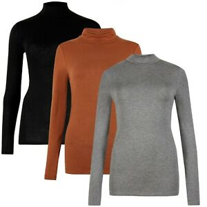 Marks & Spencer Womens Heatgen Plus™ Brushed Thermal Turtle Neck New M&S Top