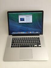 """Apple MacBook Pro A1398 15.4"""" i7 4th Gen 16Gb Ram 500 SSD Late 2013"""