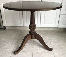 Ethan Allen British Classics Round Pineapple Side/End Table 29-8906