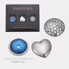 Authentic Pandora Silver December Petites w/ London Blue & Clear CZ 792091NLB