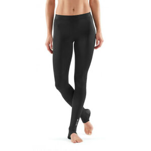 Skins Womens DNAmic Elite Recovery Long Compression Tights Bottoms Pants
