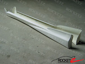 2002-2006 Acura RSX JDM Mugen Style Side Skirts 03 04 05 Left + Right USA CANADA