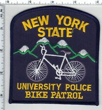 New York State University Police Bike Patrol Shoulder Patch from 1999