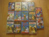 25 MC Walt Disney verschiedene Mulan Aristocats Dschungelbuch  Musikkassetten