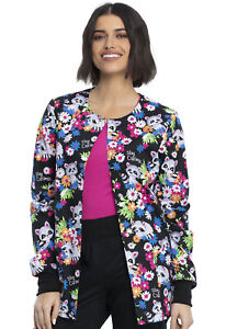 Cherokee Prints Snap Front Warm-up Jacket CK301 STCU Stay Curious Free Ship