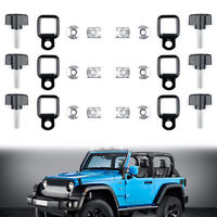Hard top Cover Quick Removal Screw Washer Fastener Nuts Bolts For Jeep JK AU