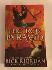 THE RED PYRAMID by Rick Riordan - 2011 Paperback Book