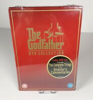 The Godfather Movie Trilogy DVD Box Set Gift New Sealed Rated 18 Gangster Mob