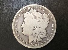 1901-O Morgan Silver Dollar U.S. Coin A0830