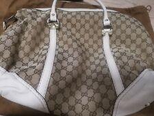 womens girl handbag bag womens gucci logo bag luxury modern brown cream