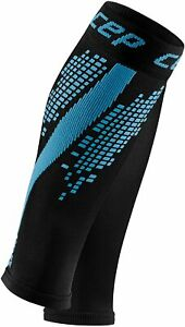 CEP Compression Calf Sleeves Reflective Nighttech Mens - Blue