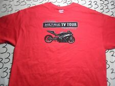 XL- Metric Motorcycle Revolution TV Tour Hanes Brand T- Shirt
