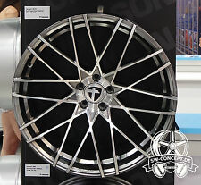 "Tomason TN19 10,5x21"" 5x112 ET35 ML72,6 Dark hyper black polished Mercedes Porsc"