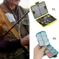 184/157PCS Rock Fishing Tackle Kit Box W/ Swivels Hooks Sleeves Soft Beads Tubes