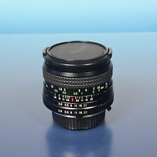 Super Danubia multi coated 2.8/28mm lens Objektiv für Minolta MD - (92925)