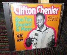 CLIFTON CHENIER: BON TON ROULET! & MORE MUSIC CD, 21 CLASSIC ZYDECO TRACKS, GUC