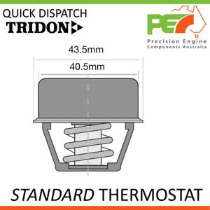 New * TRIDON * Standard Thermostat For Renault R10 R12 R15 R16 R17 Carb.