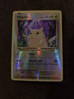 Pokémon card Pikachu 2016, level 12, 35/108, Reverse Holo, Mint Condition