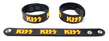 Kiss Nuevos! Goma Pulsera Pulsera Envío Gratis Rock And Roll All Night aa78