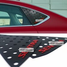 C Pillar Window Glass Sports Plate Molding Red Logo For NISSAN 2013-2016 Sentra