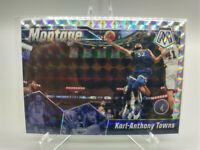 Karl-Anthony Towns Mosaic Montage 2019 2020 Mosaic Silver Prizm #26