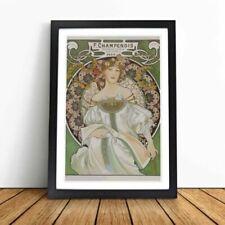 Alphonse Mucha Paper Famous Paintings/Painters Art Prints