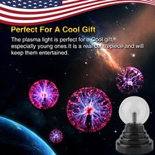 Magic USB Glass Plasma Light Static Round Ball Sphere Lamp Night Xmas Gift TO US