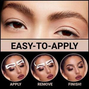 4D Hair-like   Eyebrows Waterproof Eyebrow Tattoo Sticker( Brown)