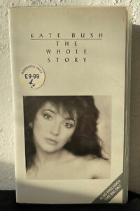 Kate Bush The Whole Story VHS Video VG Condition