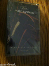 NOS Ford Audio system demostration tape FOAF-19A197-AA LORAIN CASSETTES
