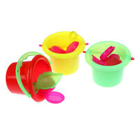 4pcs/Kit été plage seau jouets l'eau de sable jouets outil enfants jouet de ba9H