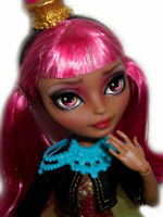 ☠ OOAK custom Ginger Breadhouse doll repaint ever after monster high bjd ☠