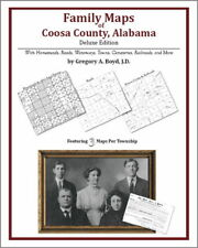 Family Maps Coosa County Alabama Genealogy Plat History