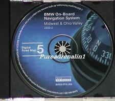 2000 2001 BMW X5 740i 740iL 745i 745Li NAVIGATION DISC CD 5 IN OH KY WV PA NY MD