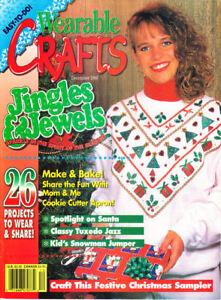 Loisirs Créatifs Livres : #1393 Wearable Magazine Déco 1994
