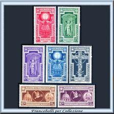 1933 Italia Regno Anno Santo n. 345/349+A54/55 **
