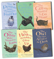 Jill Tomlinson Collection 6 Books Set New Gorilla, Cat, Penguin, Owl, Hen, Otter