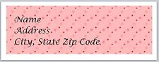 Personalized Address labels Polka Dots Buy 3 get 1 free (pd 5)
