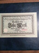 German Notgeld 1918 10 Mark