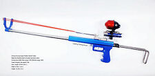 Hunting Fishing Slingshot Rifle - Driving force by Rubber Band Tubes -Arrow Ball