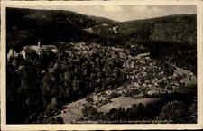1942 Stempel SCHWARZBURG Thüringen auf alter Postkarte Blick Anna-Luisen-Höhe