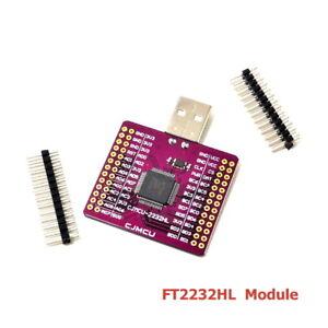 1pcs CJMCU-2232 FT2232HL USB to UART FIFO SP I2C JTAG RS232 module