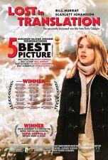 Lost In Translation Movie Poster 2 Sided Original 27x40 Scarlett Johansson